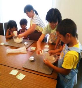 福岡ミモザテラスキッズパン教室