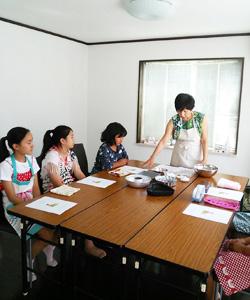 福岡ミモザテラスキッズクッキング教室