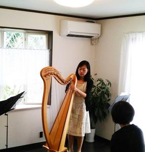福岡音楽教室ミモザテラスでのアフターヌーンコンサート