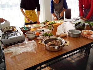料理教室スタート